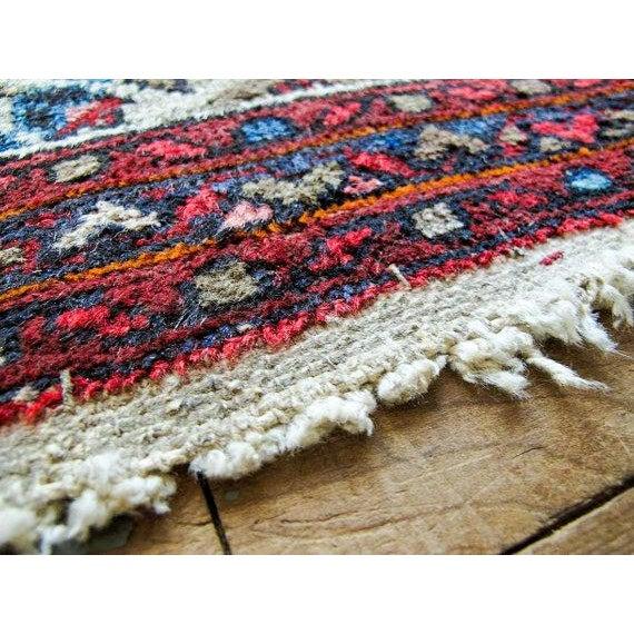 "Vintage Persian Bohemian Rug - 1'10"" x 3'1"" - Image 3 of 6"