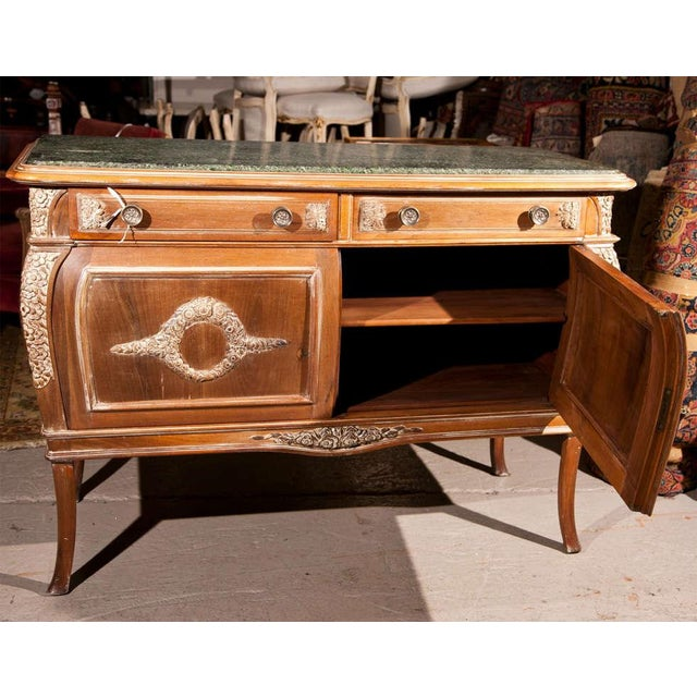 French Empire Style Marble-Top Sideboard For Sale - Image 9 of 9