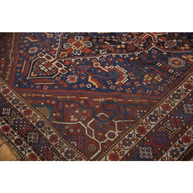 """1920s Vintage Shiraz Carpet - 7'3"""" X 10'2"""" For Sale - Image 5 of 13"""