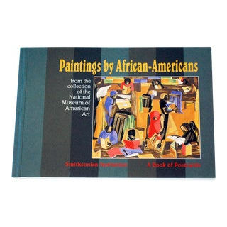 "Vintage ""Paintings by African-Americans"" Postcard Book For Sale"