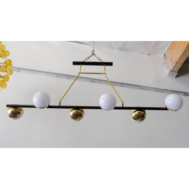 Italian Viale Chandelier by Fabio Ltd (3 Available) For Sale - Image 3 of 9
