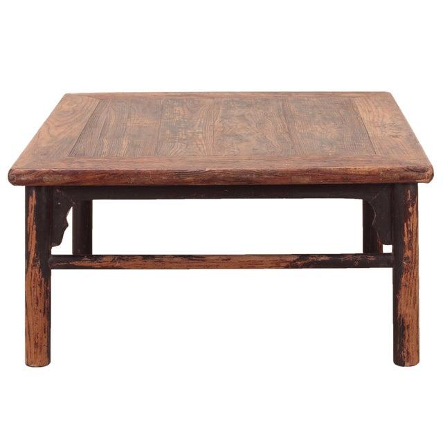 Vintage Sarreid LTD Chinese Rustic Coffee Table - Image 2 of 4
