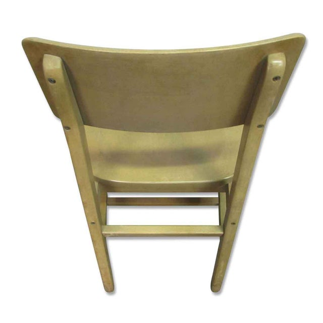 Solid Maple School Chair For Sale - Image 5 of 10