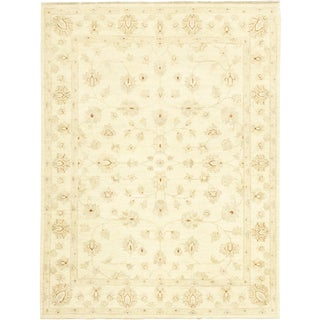 "Zahir, Oushak Area Rug - 4' 10"" X 6' 6"" For Sale"