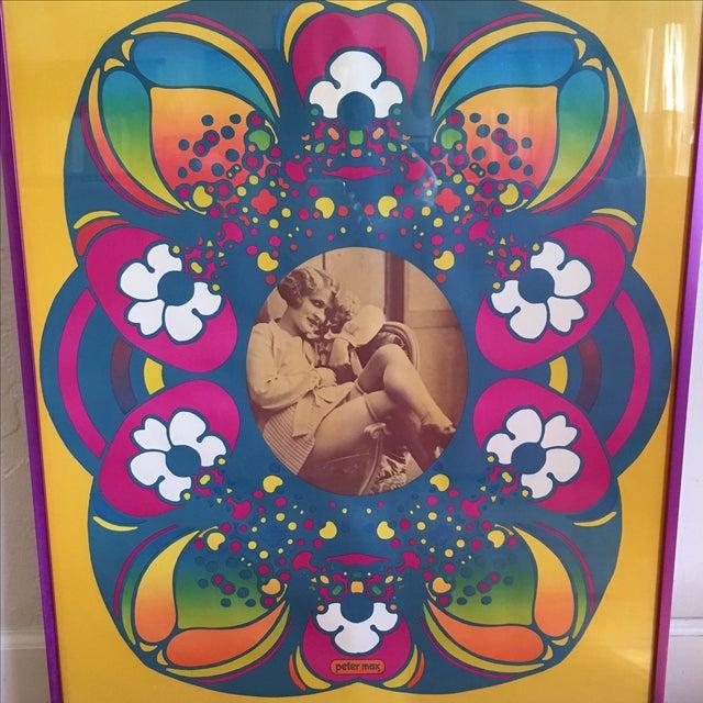"Vintage ""Flapper"" Peter Max Poster - Image 3 of 11"