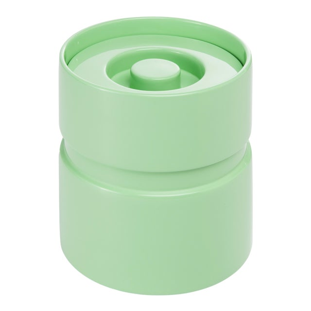Ice Bucket in Mint - Rita Konig for The Lacquer Company For Sale