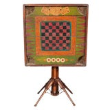 Image of Folk Art Games Table For Sale