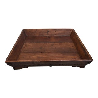 Large Square Asian Tray