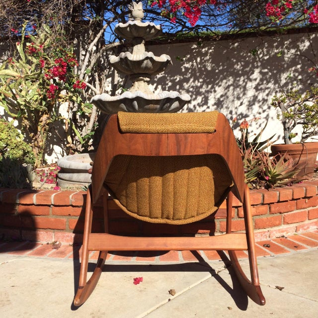 Mid-Century Sculptural Rocking Chair by Jerry Johnson For Sale - Image 5 of 11