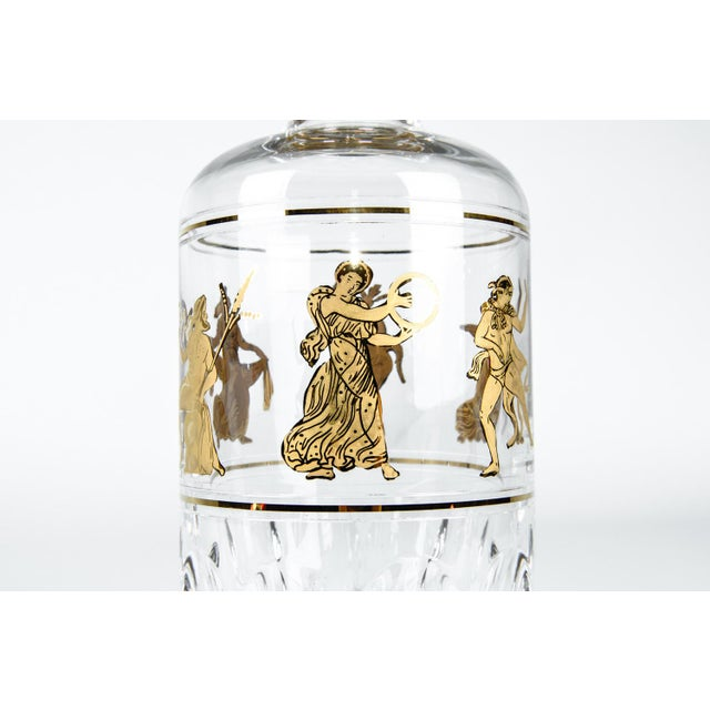European Art Deco Cut Crystal Decanter For Sale In New York - Image 6 of 9