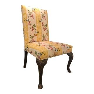 Vintage Rose Tarlow Designer Chair w Black Chinoiserie Decoration