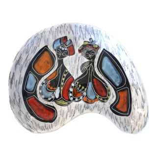 Fantoni Style Decorative Catchall For Sale