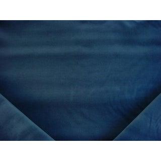 12y Kravet Couture E25604 Versailles Sapphire Lagoon Velvet Upholstery Fabric For Sale