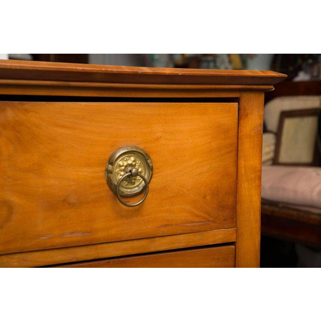 19th Century Cherrywood Biedermeier Chest of Drawers - Image 7 of 10