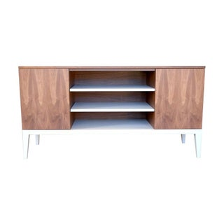 Contemporary Modern Style Credenza Console For Sale
