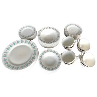Metlox Poppytrail Navajo Mid-Century China - 48 Pieces