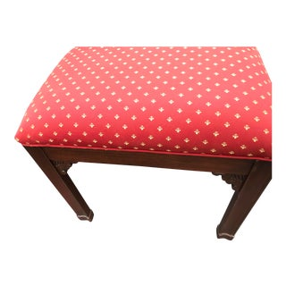 Harden Chippendale Upholstered Bench a Pair For Sale