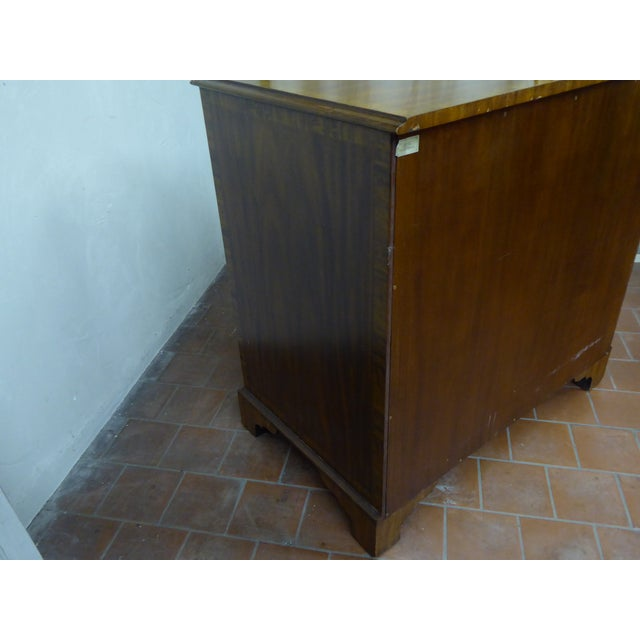 Brown 20th Century Maitland Smith Leather Clad Chest Drawers For Sale - Image 8 of 9