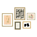 Image of Montmartre Gallery Wall, Set of 5 For Sale