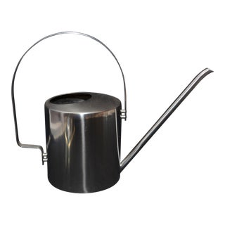 Peter Holmblad-Designed Stelton Stainless Steel Watering Can