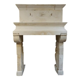17th Century Antique Mantel For Sale