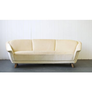 1950s Curved German Sofa Preview