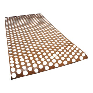Perforated Leather Screen For Sale