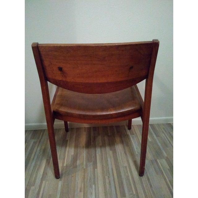 Gunlocke Gunlocke Chair For Sale - Image 4 of 6