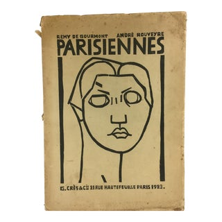 Lithographic Prints by André Rouveyre, Parisiennes, 1923