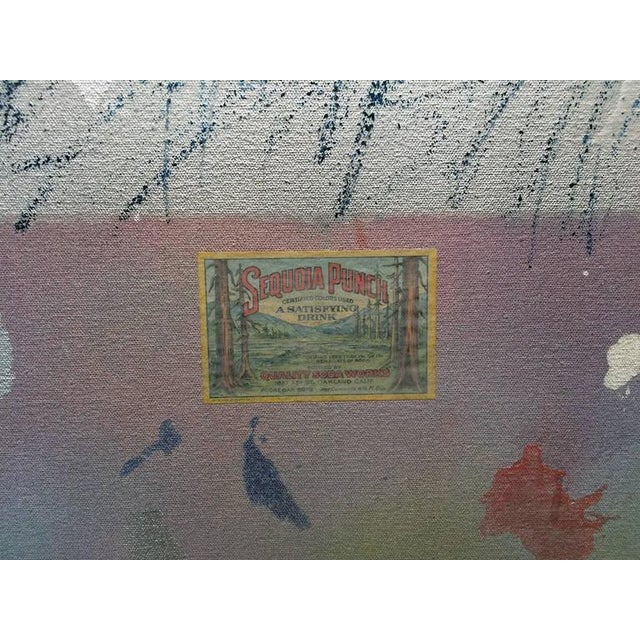 Gerald Campell Abstract Painting For Sale In Los Angeles - Image 6 of 6