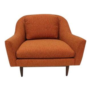 1960s Vintage Jens Risom Lounge Chair For Sale