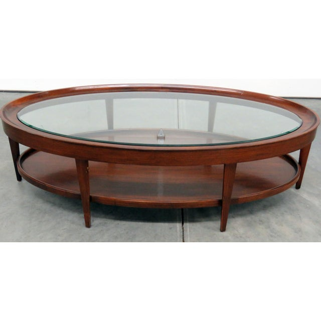 Modern Design Glass Top Coffee Table For Sale In Philadelphia - Image 6 of 6