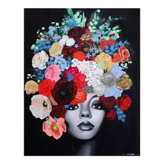 """Diana"" Original Artwork by Sally K For Sale"