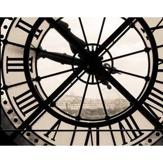 """""""Paris Clock"""" Contemporary Architectural Photograph For Sale"""