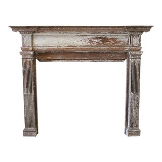 19th Century Antique Architectural Salvage Mantle For Sale