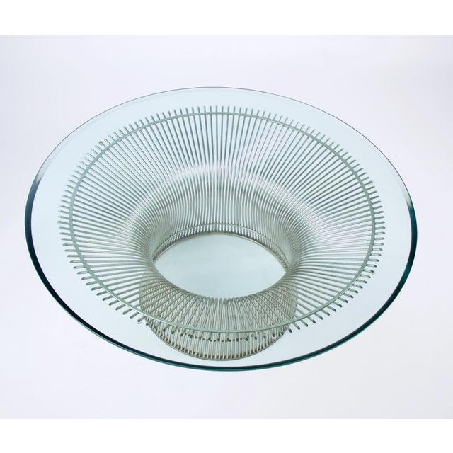Mid-Century Modern 1960s Mid-Century Modern Warren Platner for Knoll Coffee Table For Sale - Image 3 of 9