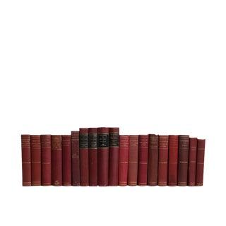 European Cranberry Classics Decorative Books - Set of 20