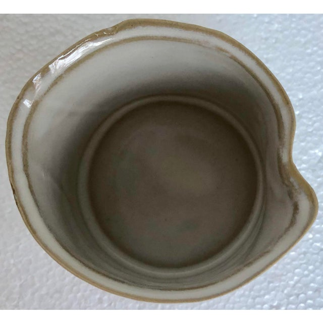 2010s Organic Modern Ceramic Cachepots-Set of 6 For Sale - Image 5 of 6
