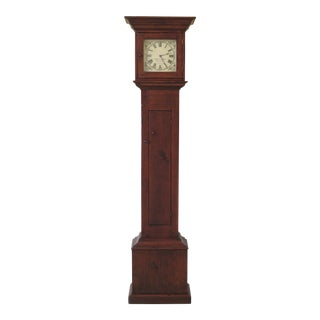Stephen Von Hohen Pine Tall Country Clock For Sale