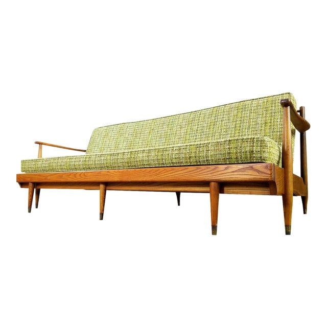 Vintage Mid-Century Convertible Sofa Bed