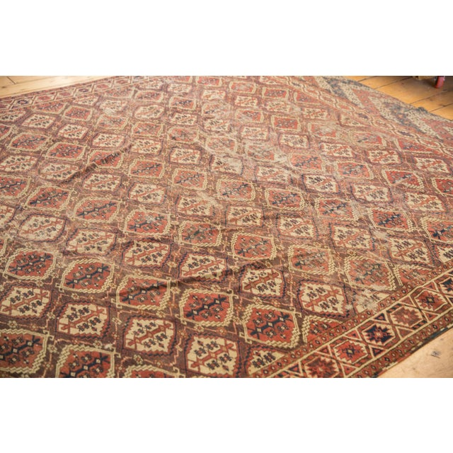 """Antique Beshir Carpet - 8'9"""" X 14' For Sale In New York - Image 6 of 13"""