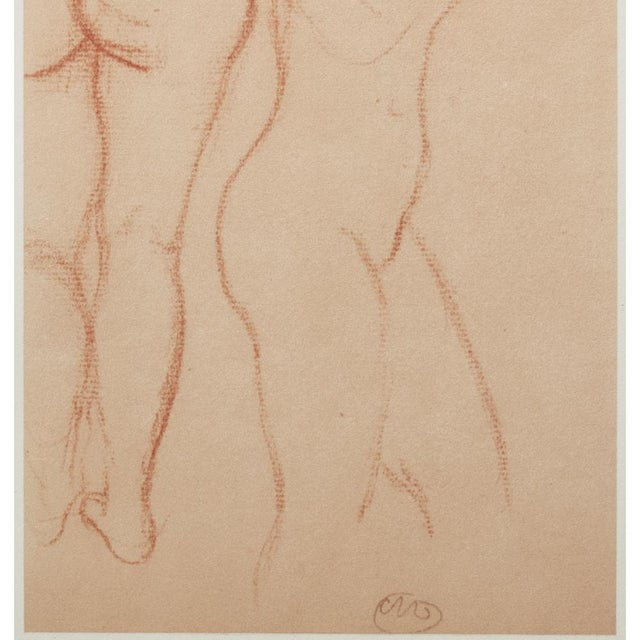 1950s Aristide Maillol, Studies Vintage Hungarian Print For Sale - Image 4 of 9