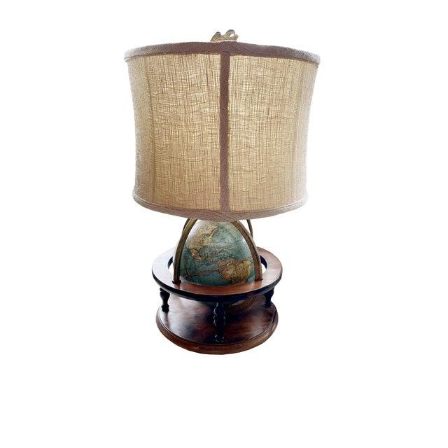 Antique Globe Lamp For Sale In Dallas - Image 6 of 6