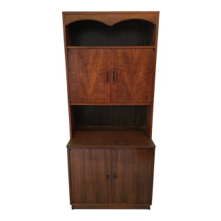 Lane Mid-Century Wall Cabinet For Sale
