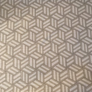 Miles Redd for Schumacher Tumbling Block Fabric 7 1/2 Continuous Yards For Sale