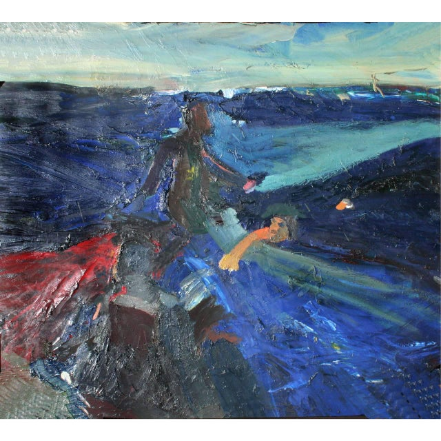 Joan Brown Swimming With Sharks and Manuel Neri Walking on Water San Francisco Bay For Sale - Image 6 of 6