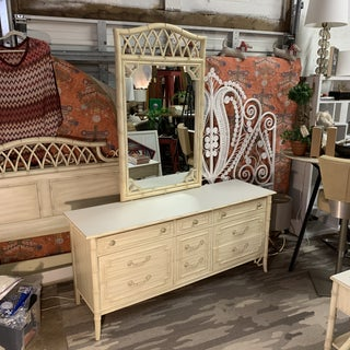 Allegro Collection by Thomasville Faux Bamboo Dresser and Mirror Preview