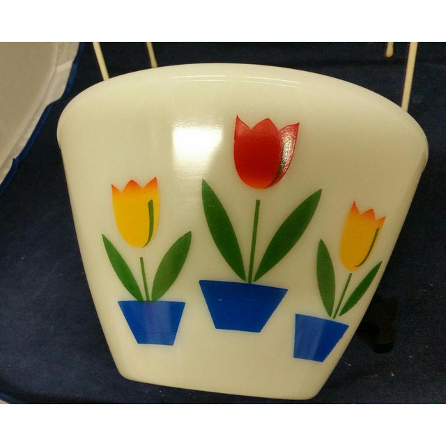 Vintage Fire King Tulip Mixing Bowls - a Pair For Sale - Image 4 of 13