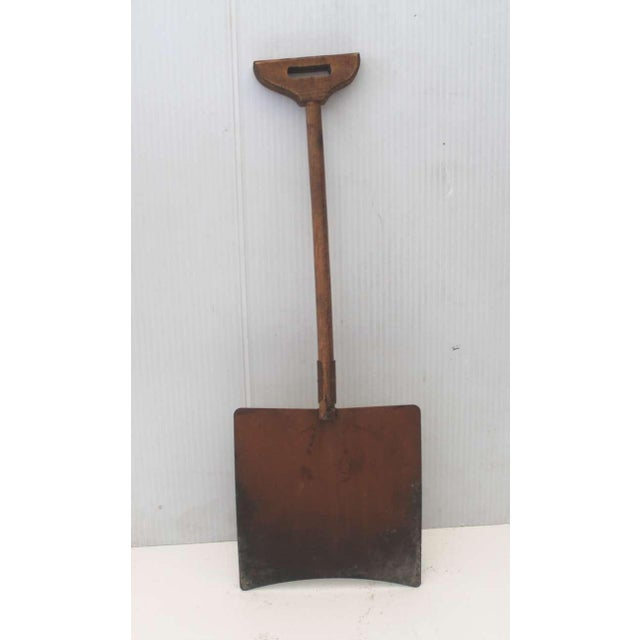Early Original Paint Decorated Children's Shovel For Sale - Image 4 of 4