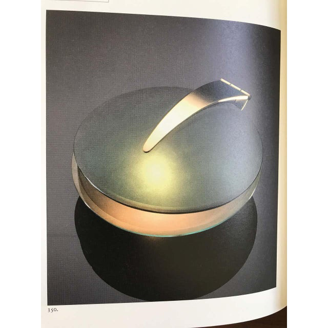 Fontana Arte Max Ingrand Glass and Brass Shell Table Lamps for Fontana Arte, Circa 1960 For Sale - Image 4 of 13